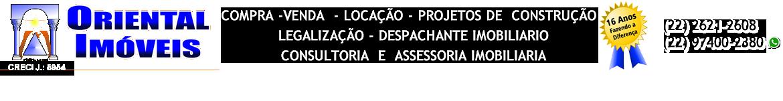 Oriental Imóveis – Compra – Venda – Despachante de Imóveis em São Pedro da Aldeia RJ